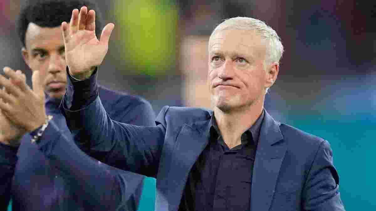 Французская федерация приняла официальное решение о будущем Дешама после провала на Евро-2020
