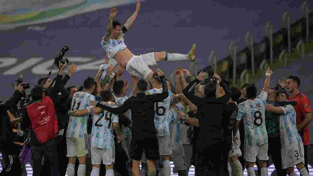 Аргентина победила Бразилию и выиграла Копа Америка – Месси добыл трофей со сборной, Скалони прервал проклятие