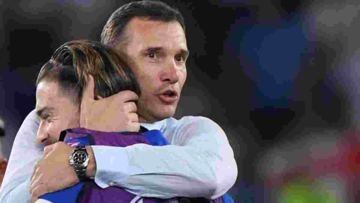 Шевченко рассыпался в комплиментах звезде сборной Англии и объяснил его обратную замену в полуфинале Евро-2020