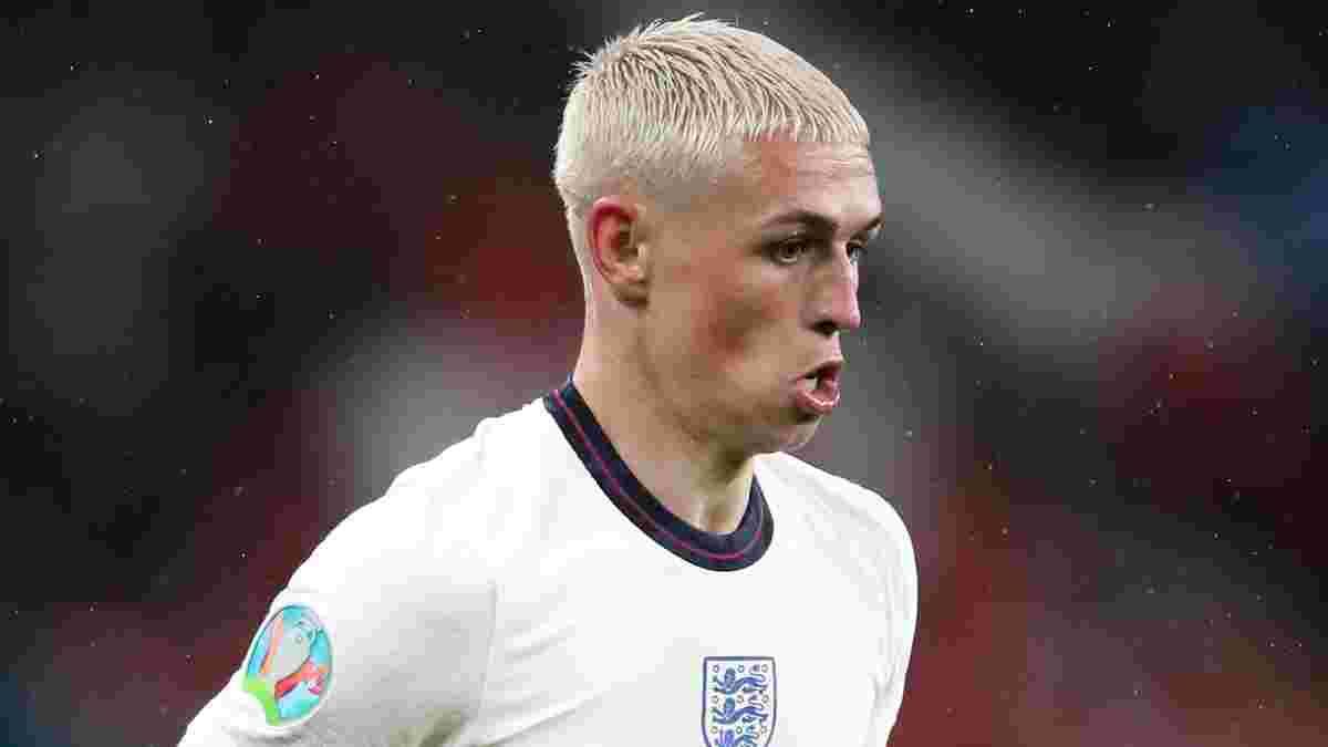 Италия – Англия: Фоден пропустил тренировку перед финалом Евро-2020