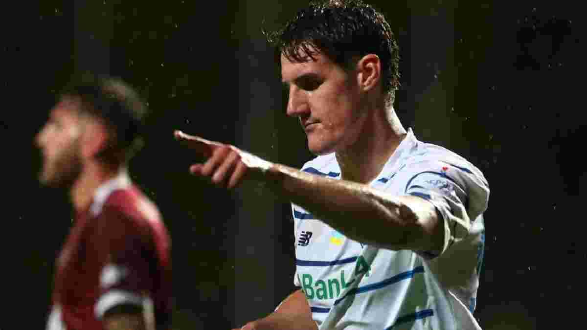 Шкурин забил дебютный гол за Динамо – белорусу хватило 10 минут, чтобы спасти киевлян от поражения