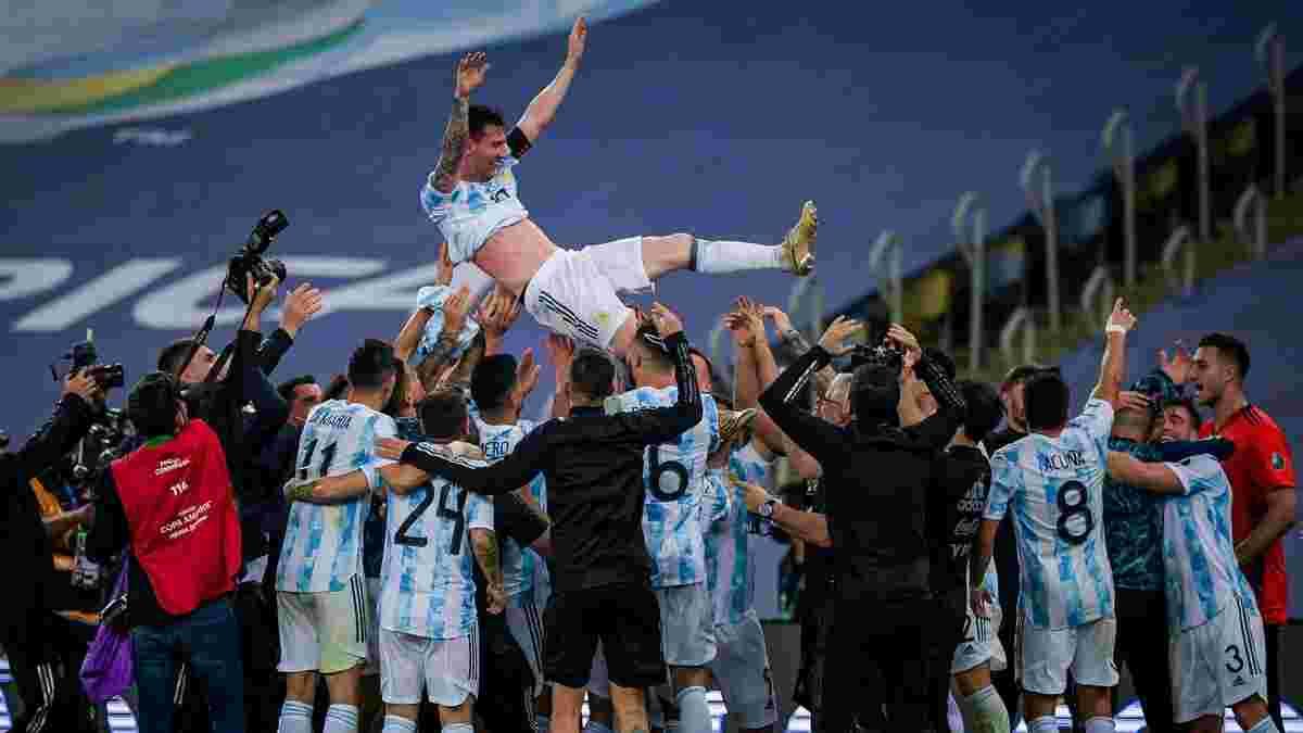 Аргентина – Бразилия: Месси расплакался сразу после финального свистка – эмоциональное видео