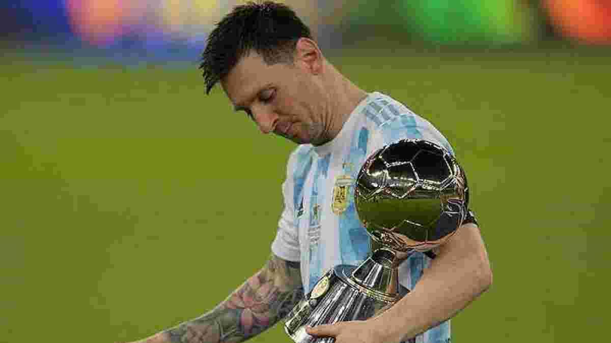 Копа Америка-2021: Месси единолично собрал все индивидуальные награды турнира
