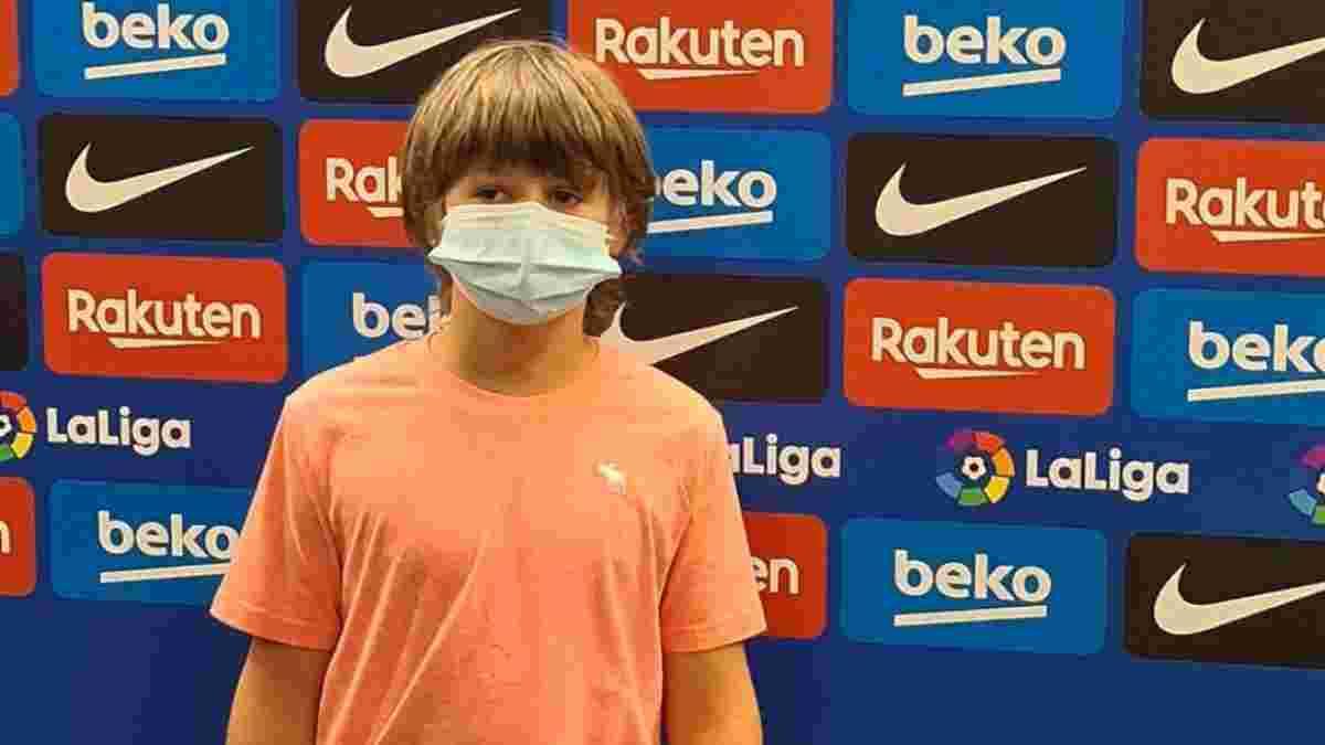 Барселона оголосила про підписання сина легендарного Шустера