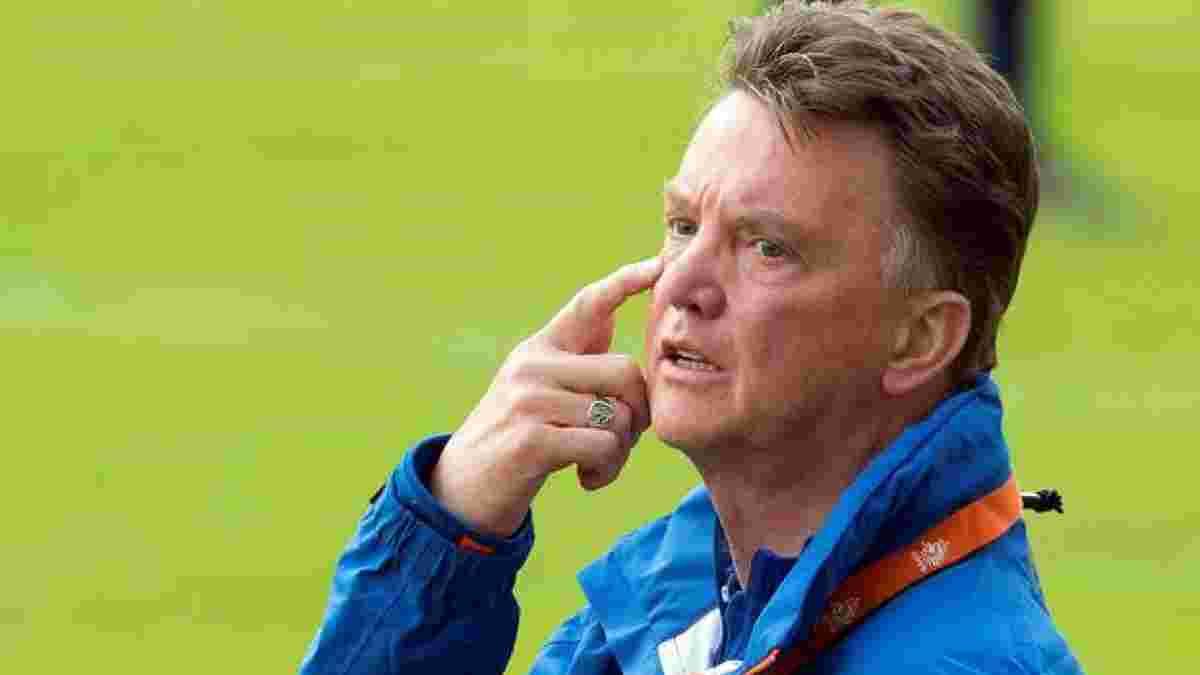 Ван Гал узгодив контракт зі збірною Нідерландів