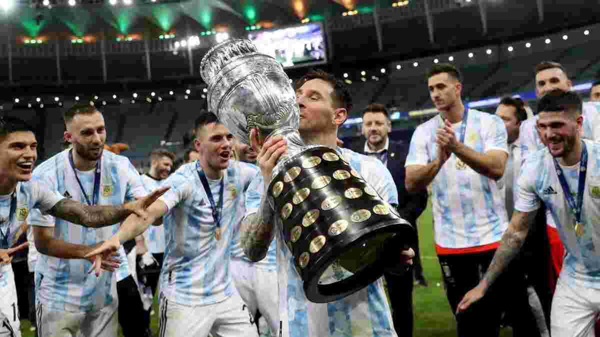 Аргентина розкішно підтримала Мессі перед фіналом Копа Амеріка – 70-метровий Лео височів над рідним містом