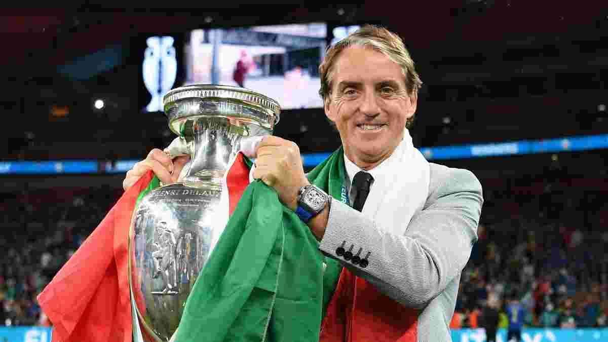 Італія – Англія: Манчіні лаконічно прокоментував тріумф на Євро-2020