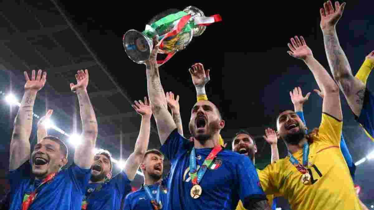 """""""Сегодня ночью я буду пить все"""", – Бонуччи переплюнул дерзость Ярмоленко после финала Евро-2020"""