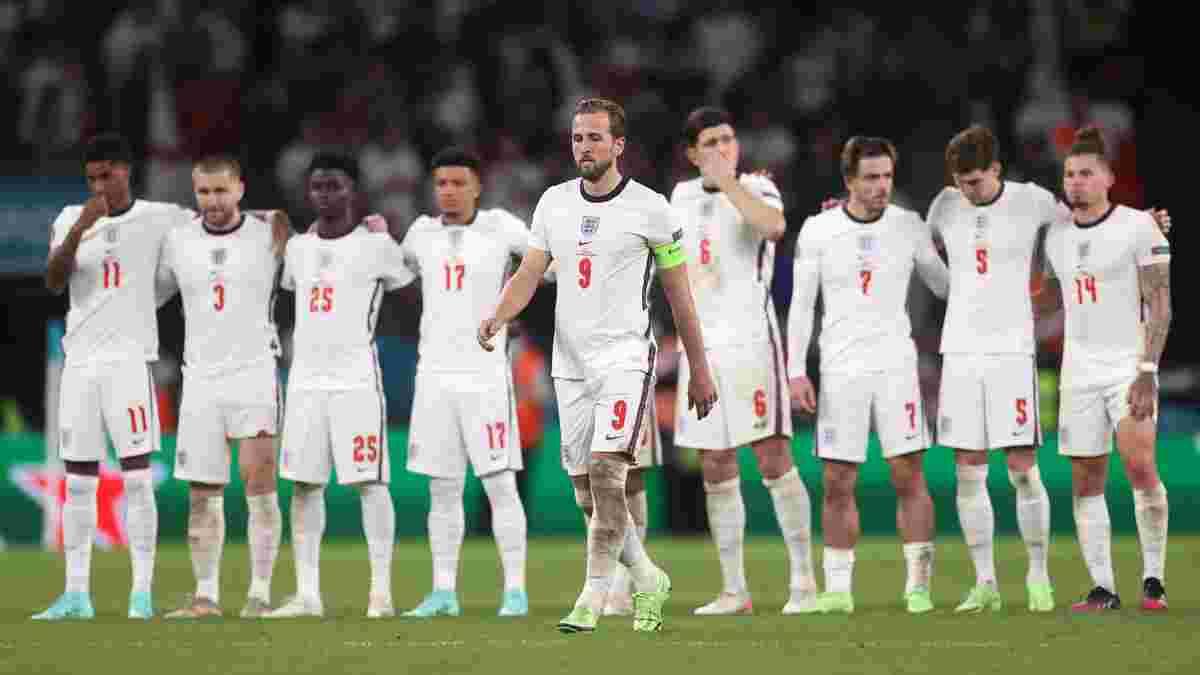 Збірна Англії стала жертвою расистських образ через поразку в фіналі Євро-2020 – почалось розслідування