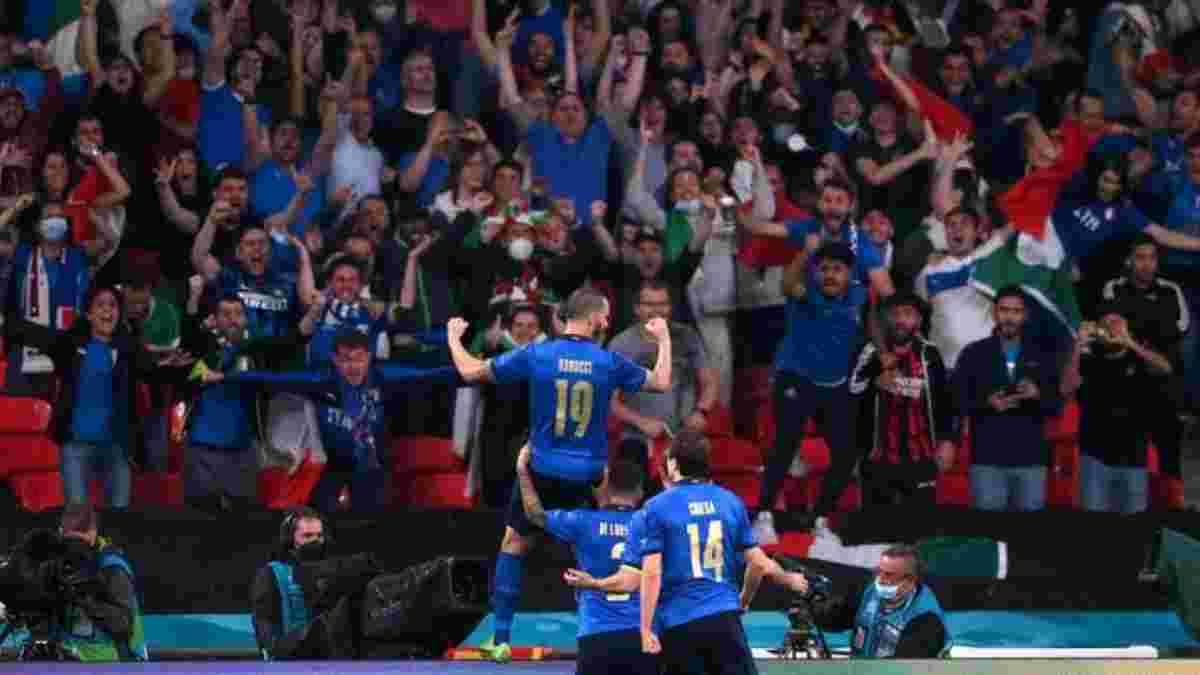 """""""Їжте більше пасти"""": Бонуччі глузував з фанатів Англії після перемоги у фіналі Євро-2020"""