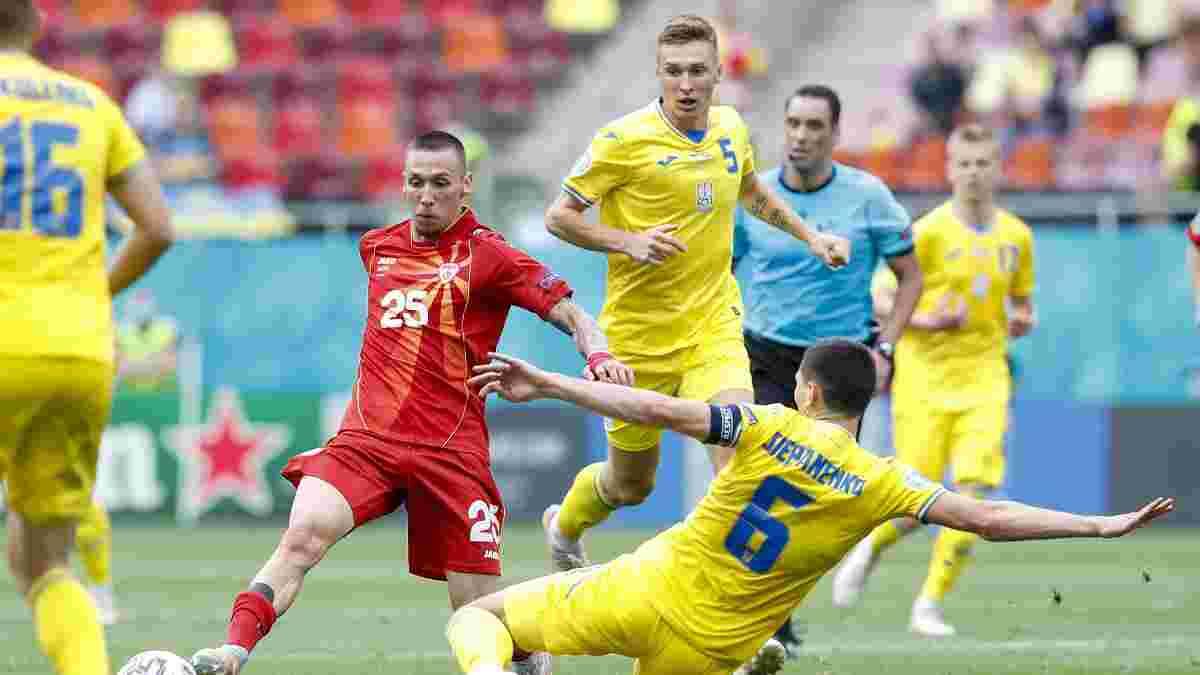 Украина пропустила наибольшее количество голов среди всех сборных на Евро-2020