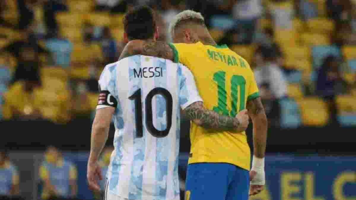 Мессі зупинив спробу принизити збірну Бразилії – відео благородного вчинку капітана аргентинців