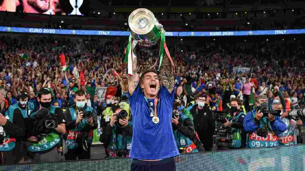 Италия – Англия: Ди Лоренцо дерзко курил в раздевалке после победы на Евро-2020