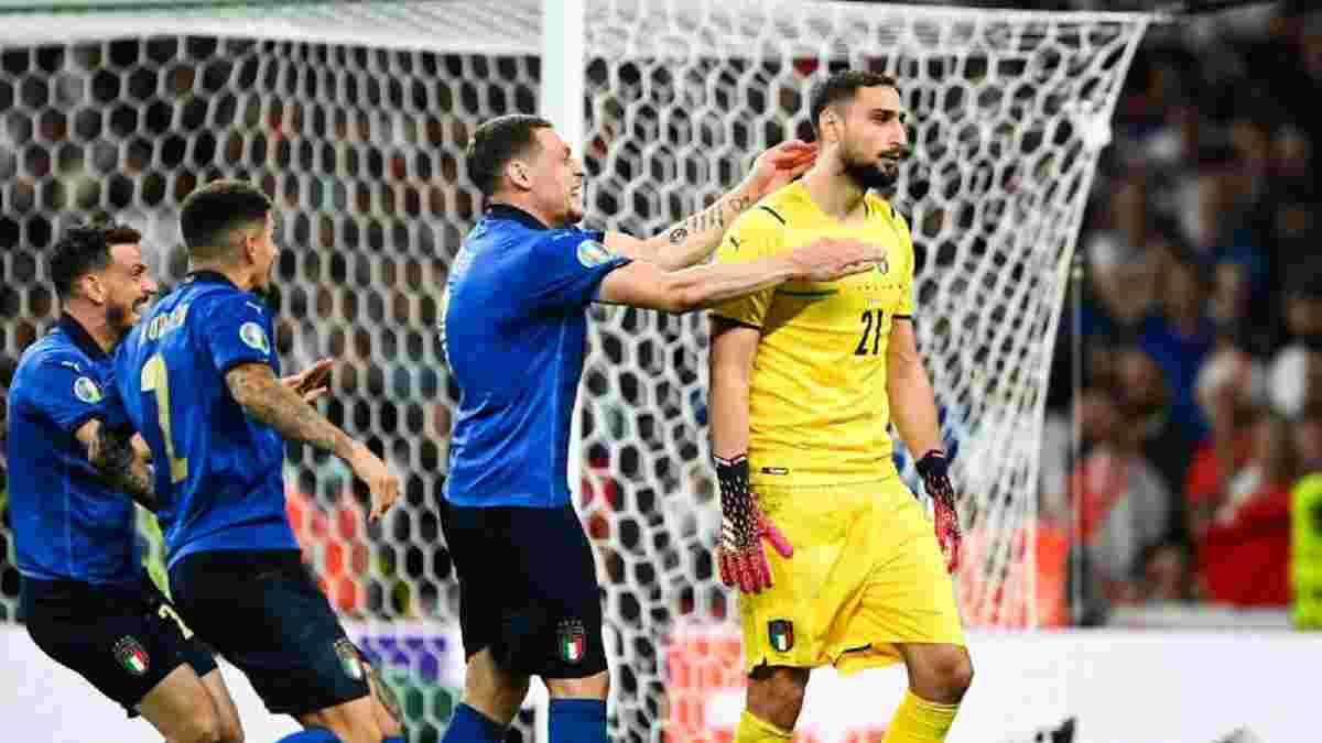 Доннарумма не святкував відбиття вирішального пенальті у фіналі Євро – герой Італії пояснив дивну поведінку