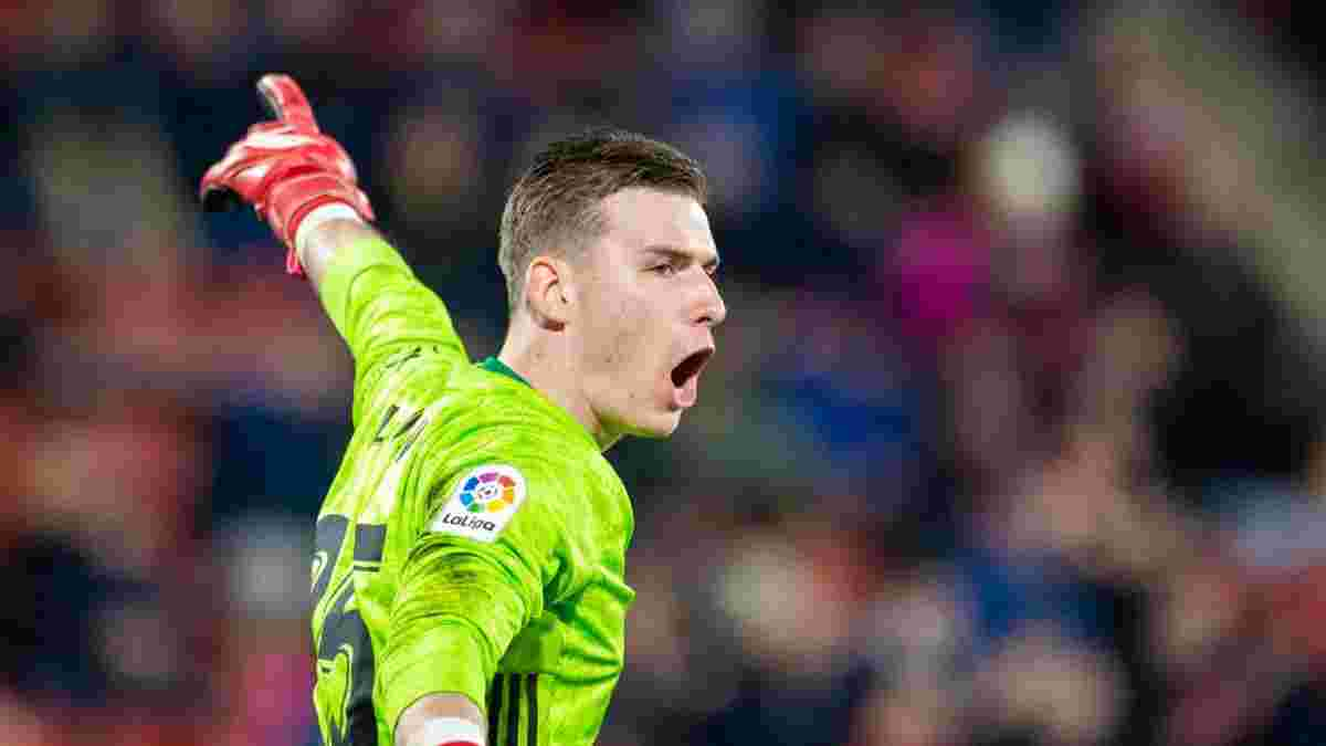 Лунін не хоче покидати Реал – колишній клуб українця контактував з Мадридом
