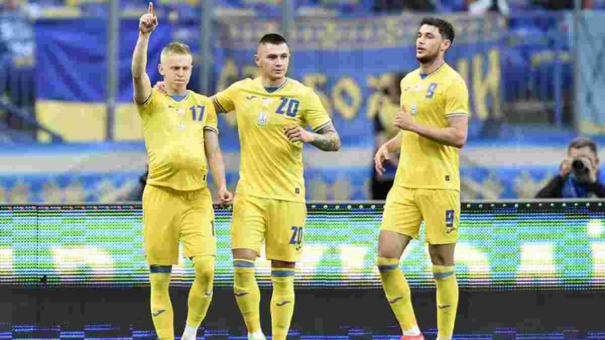 Зинченко, Яремчук и еще 3 игрока сборной Украины подорожали по версии Transfermarkt – лидер остался неизменным