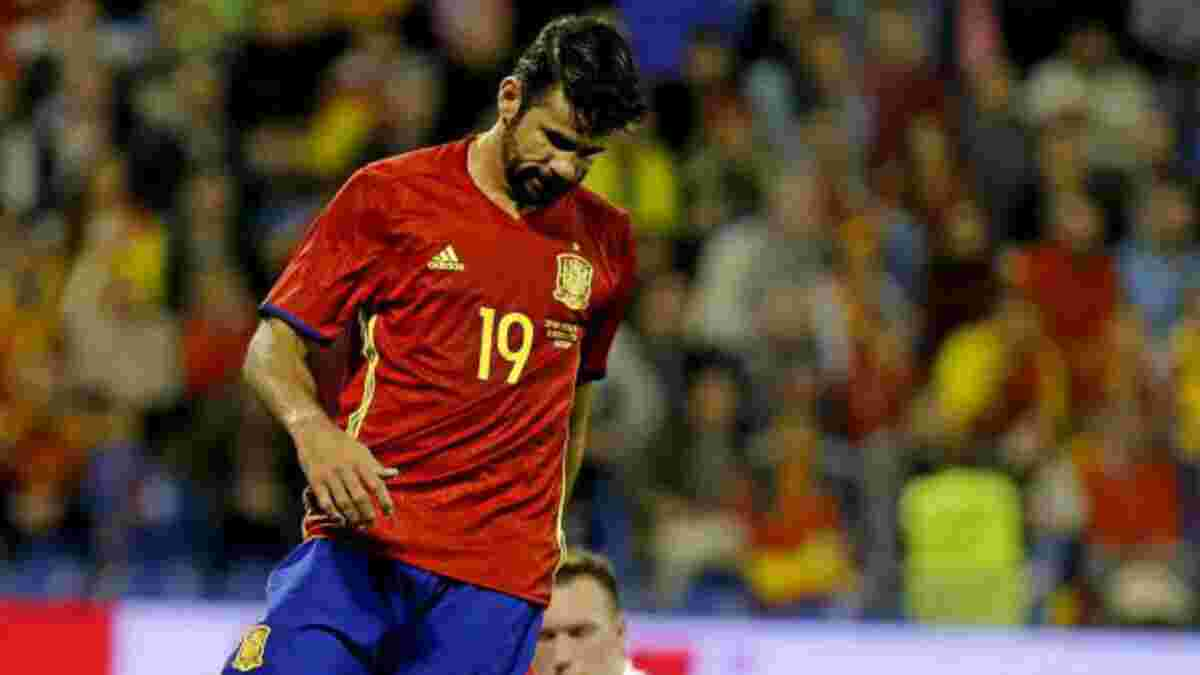 Дієго Коста ледь не перебрався до Серії А – відомий тренер в останній момент наклав вето