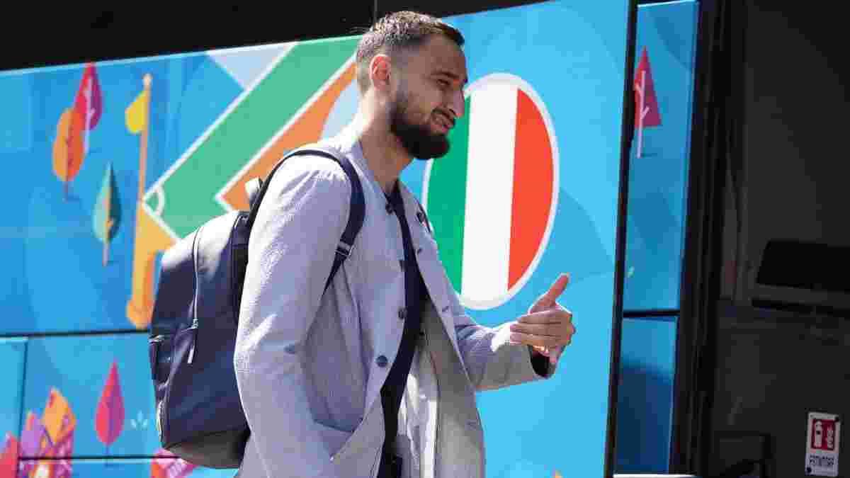 Доннарумма зробив тату, присвячене перемозі на Євро-2020