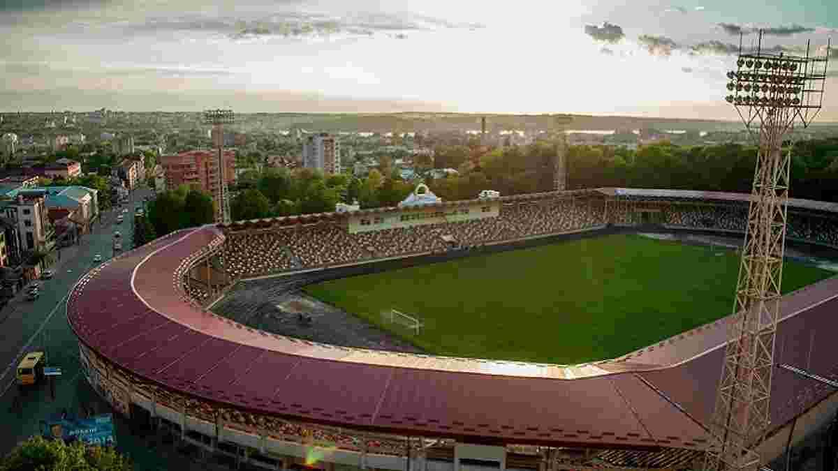 Рух готов проводить матчи УПЛ в Тернополе – клуб надеется на разрешение ситуации со стадионом Украина