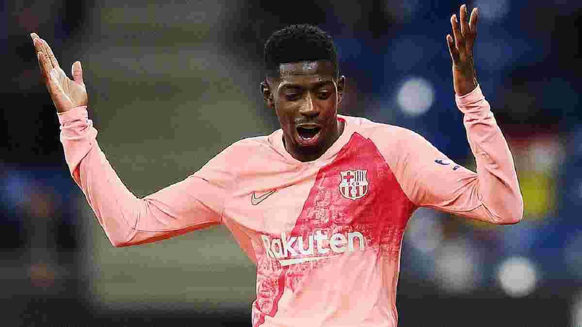 Барселона шантажем схиляє Дембеле до продовження контракту