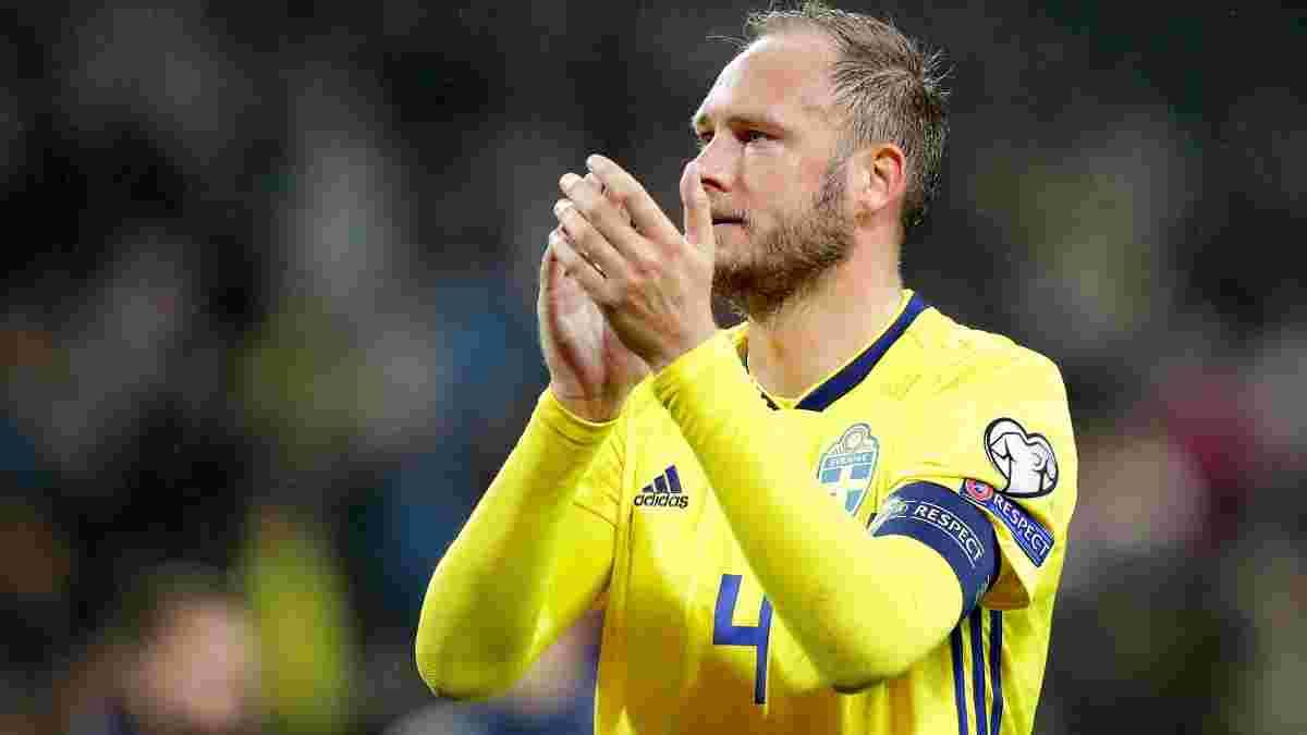 Защитник сборной Швеции объявил о завершении карьеры