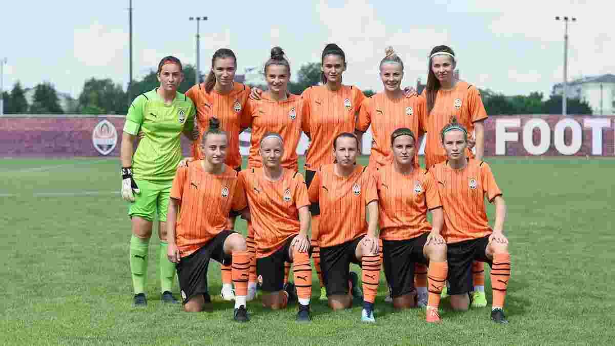Жіноча команда Шахтаря виграла з рахунком 16:0 дебютний матч у своїй історії – відео погрому
