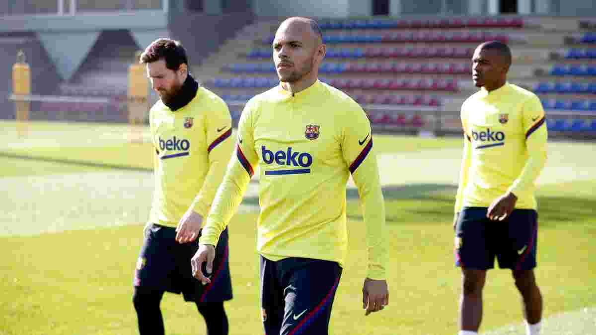 Брейтвейт решил покинуть Барселону и уже нашел себе команду в АПЛ