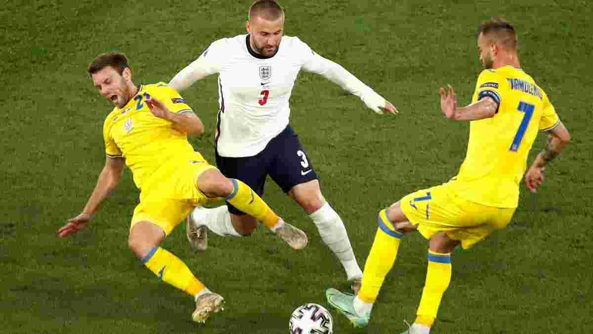Шоу сыграл в решающих матчах Евро-2020 со сломанными ребрами – он забивал за Англию в финале