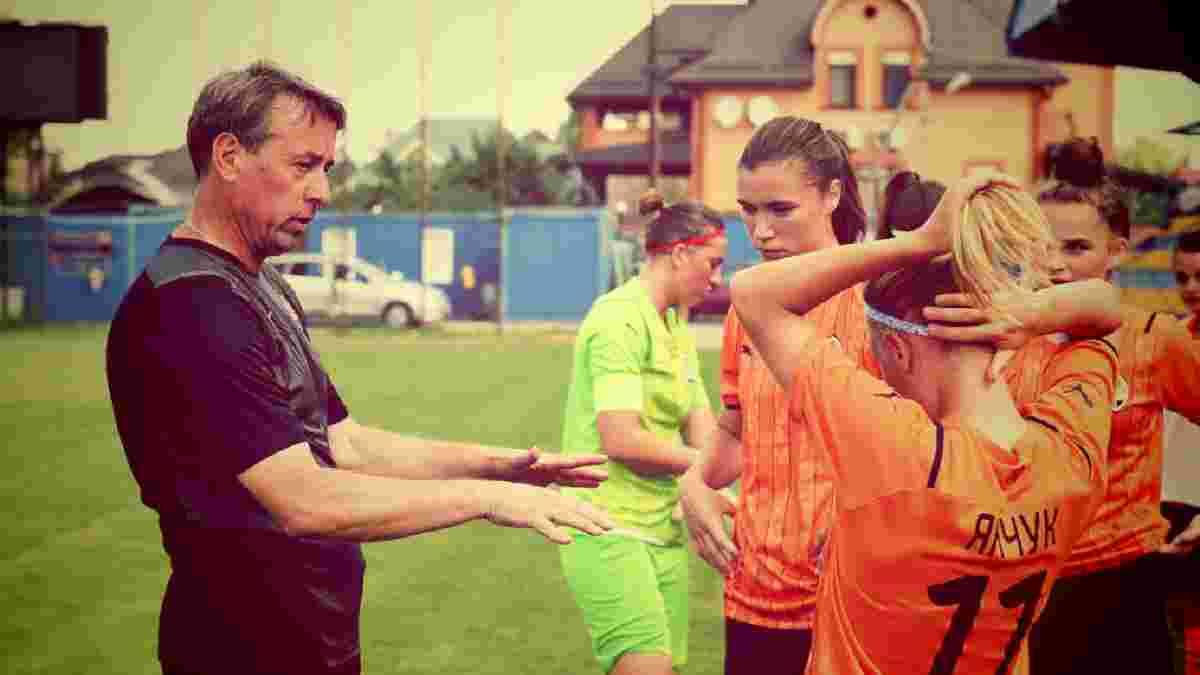 Шахтар готує прорив у жіночому футболі: тренер – екс-хавбек Зорі, нестримна бомбардирка і розгром 16:0