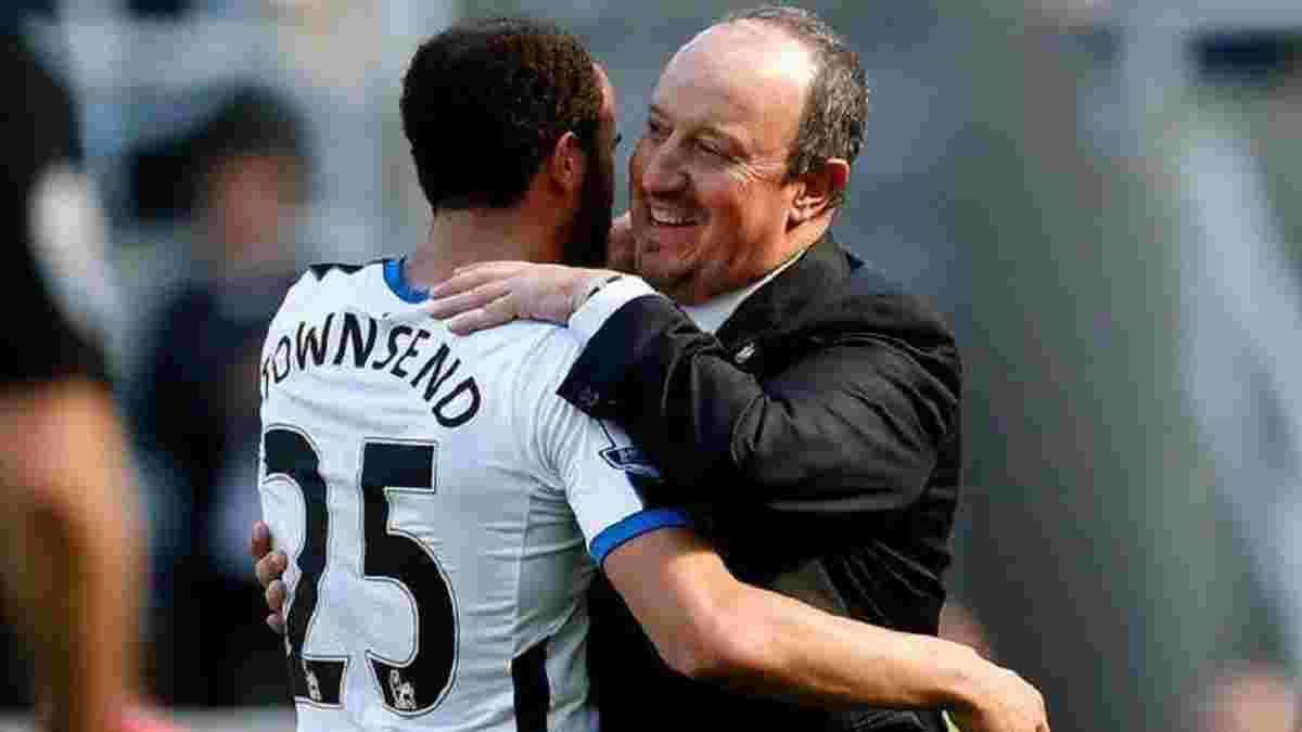 Таунсенд став гравцем Евертона