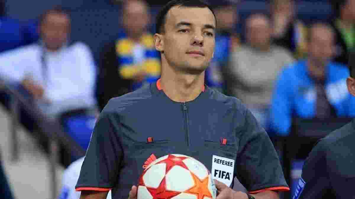 Две украинских бригады арбитров будут работать на матчах 2-го раунда квалификации Лиги конференций