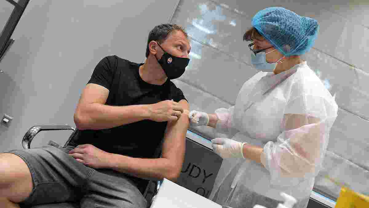 Шахтер всей командой вакцинировался от коронавируса