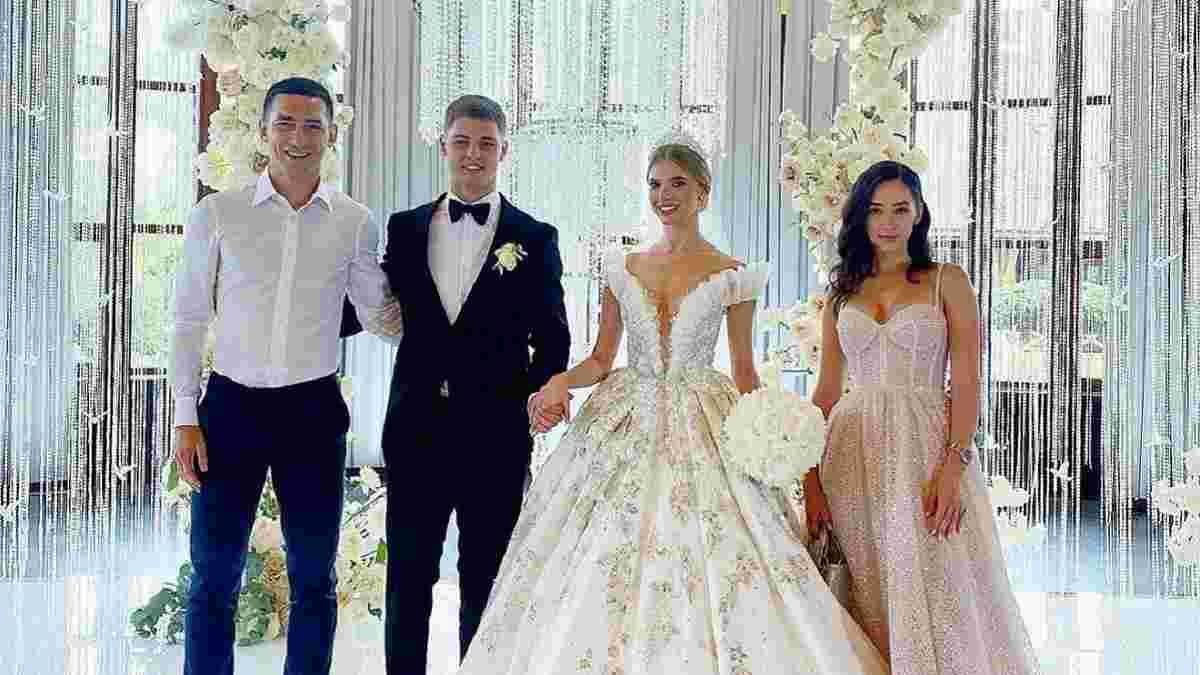 Бондарь и Савина поженились – первые кадры со свадьбы