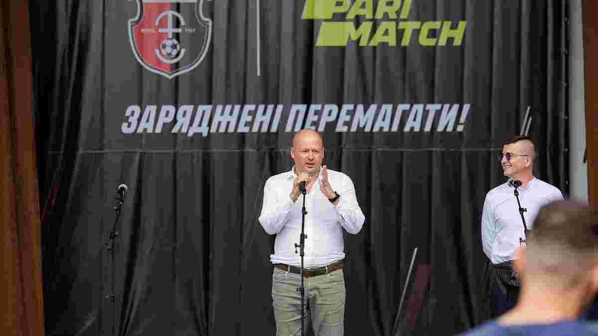 Верес представил новичков и форму, а президент ровенчан озвучил задачи на сезон