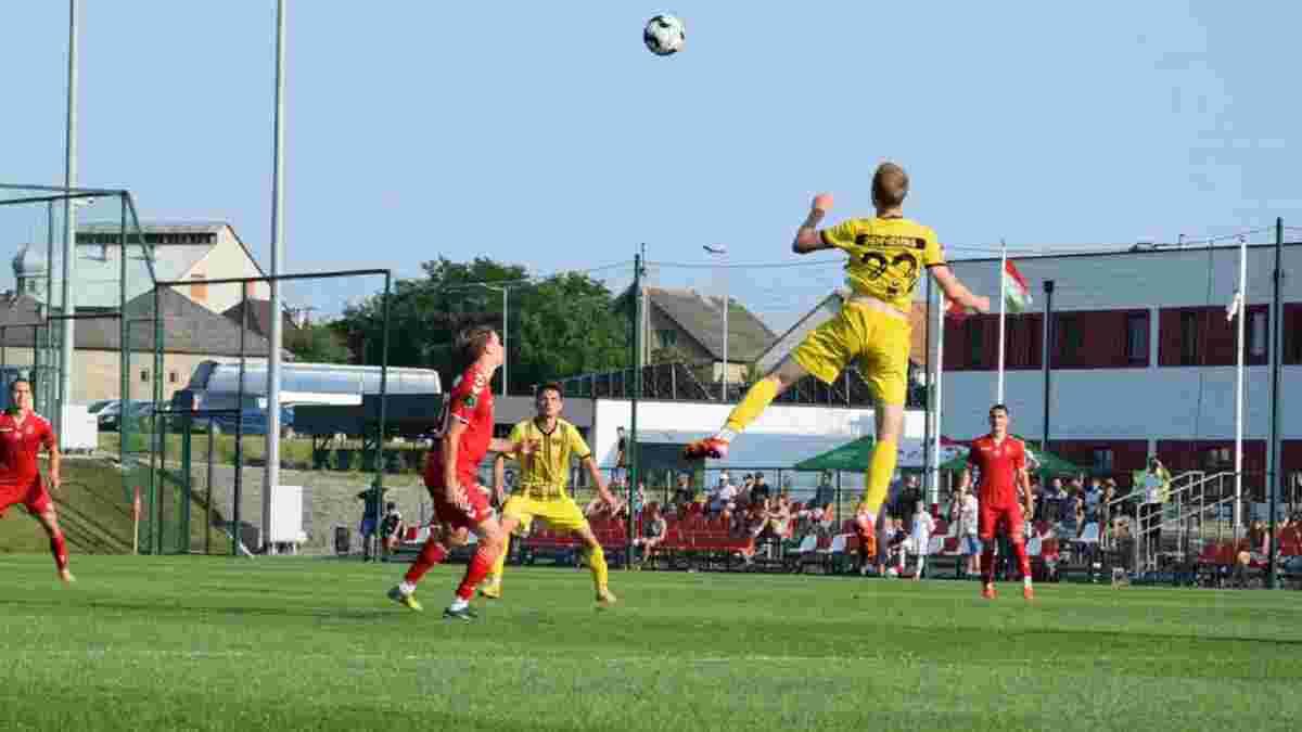 Вторая лига: Мункач дебютировал в турнире с победы над Черниговом