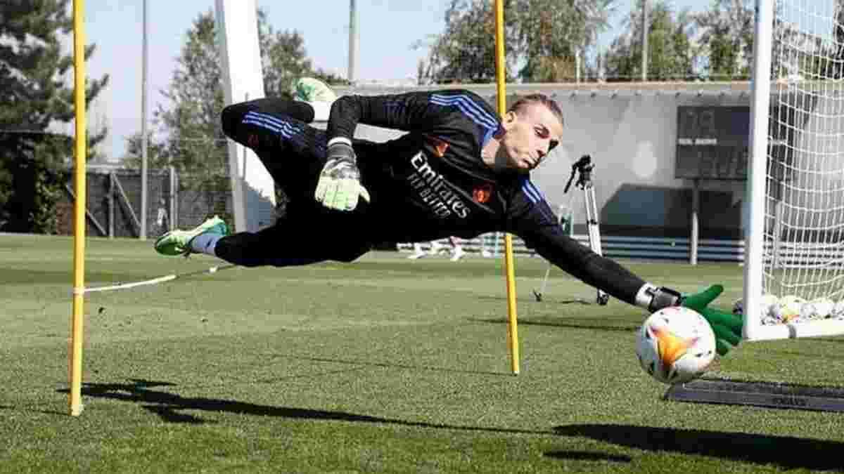 Лунин не спас Реал от поражения в спарринге с командой Джеррарда