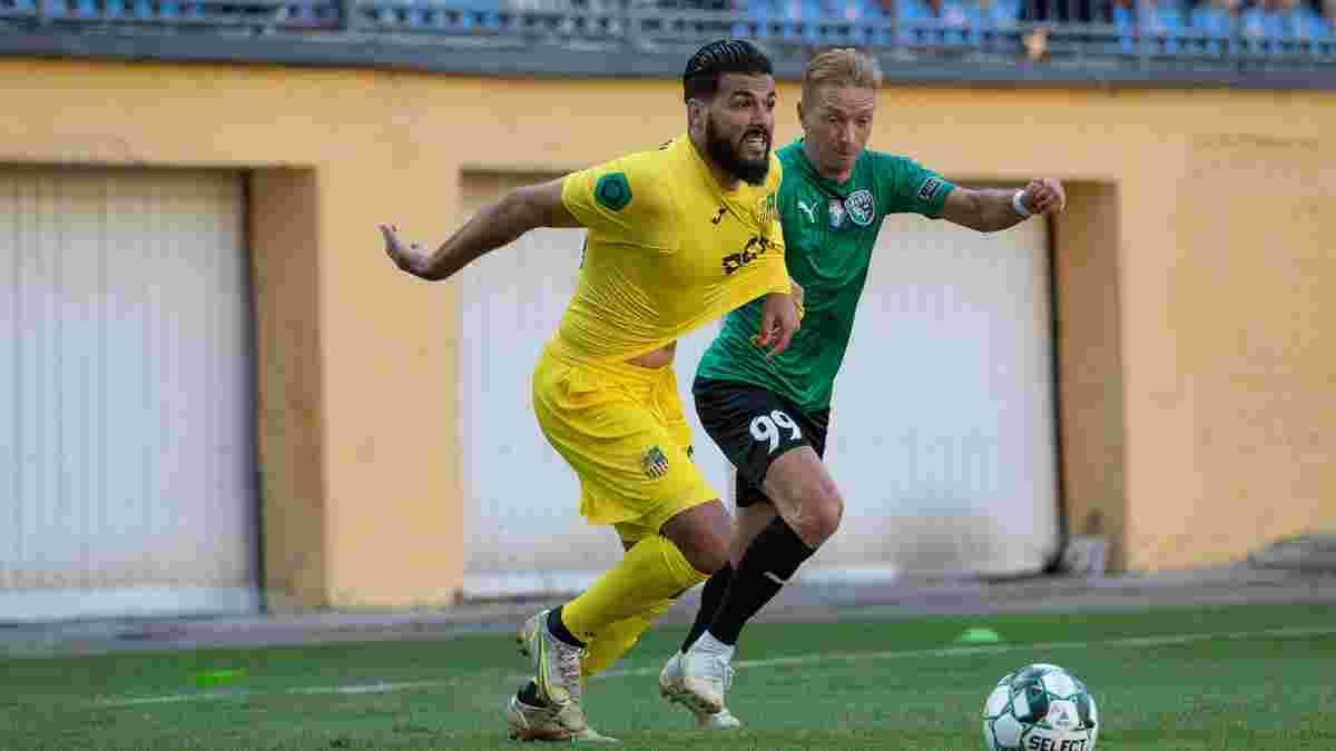 Металлист дебютировал в Первой лиге бешеной битвой с Альянсом – два удаления, два пенальти и дубль экс-игрока Монако