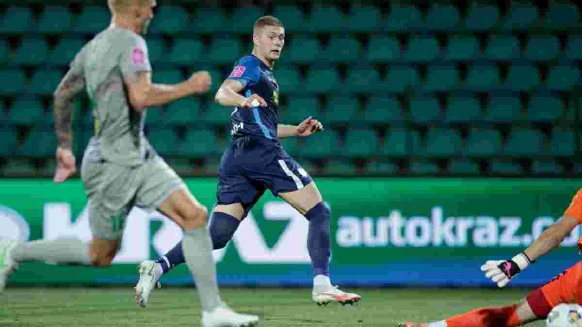 Довбик поделился эмоциями от роскошного старта сезона – герой Евро отличился дублем в первом же матче