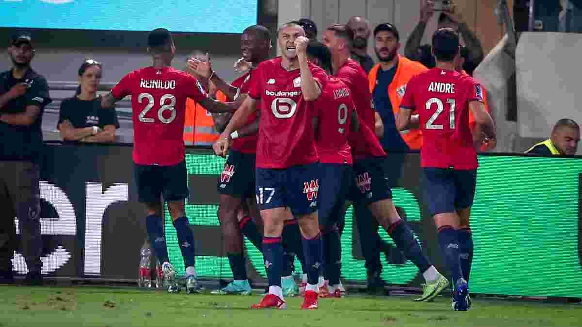 ПСЖ програв Ліллю Суперкубок Франції – зацькований Хакімі не витягнув на собі парижан, долю трофею вирішив красивий гол