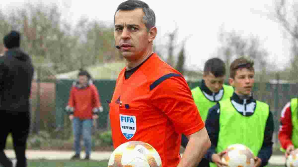 Козык получил назначение на матч Лиги конференций с участием экс-команды Григорчука