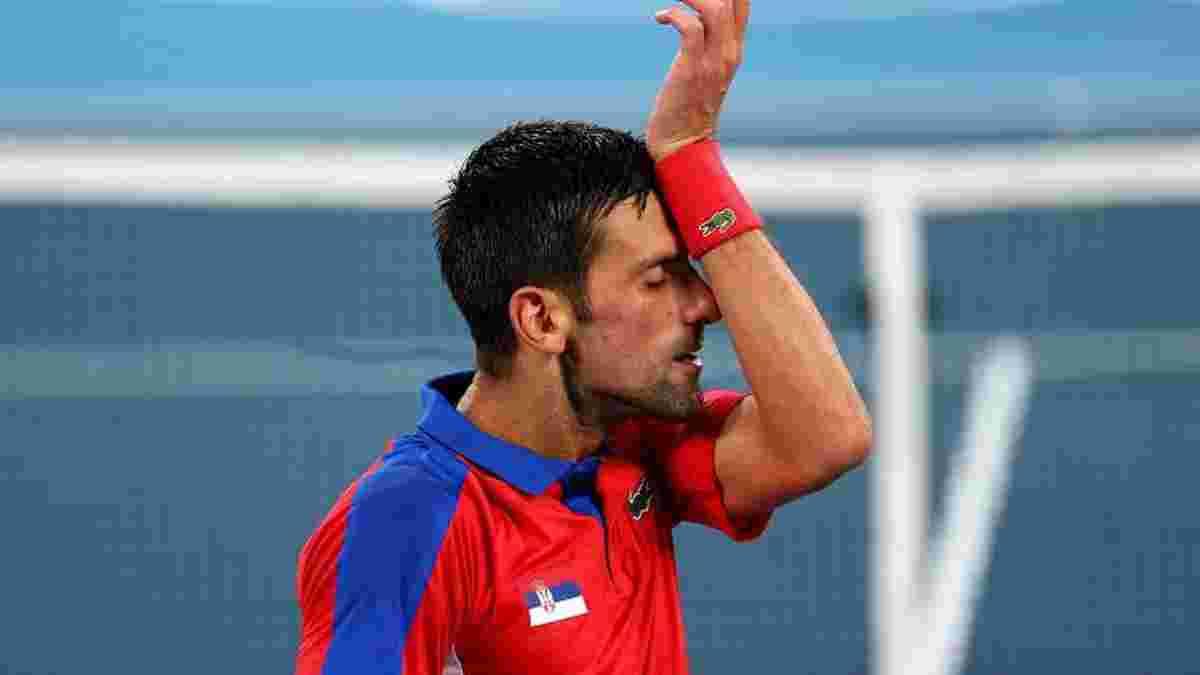Джоковіч сенсаційно поступився у півфіналі Олімпіади – серб перебував за крок до історичного рекорду