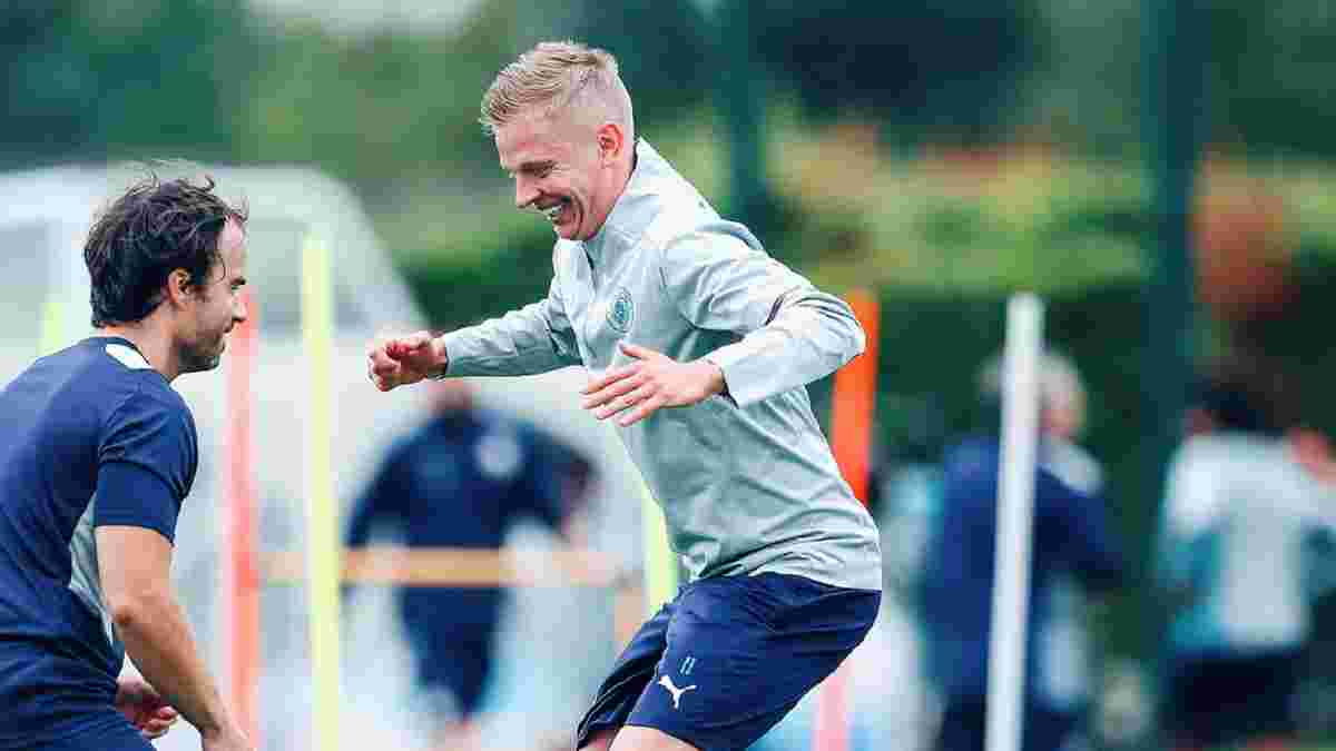 Зінченко повернувся в розташування Манчестер Сіті після Євро – легіонеру відразу довелося піднімати важку штангу
