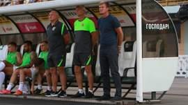 Український клуб відреагував на чутки про звільнення тренера
