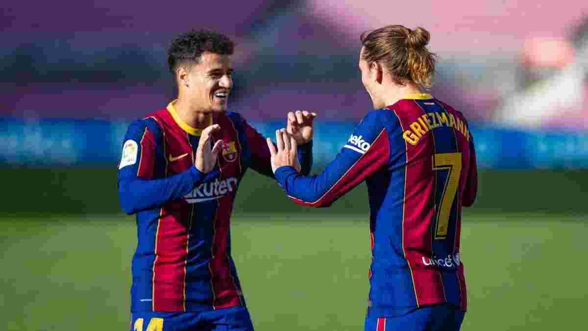 Барселона ухвалила сенсаційний вердикт щодо Грізманна і Коутінью
