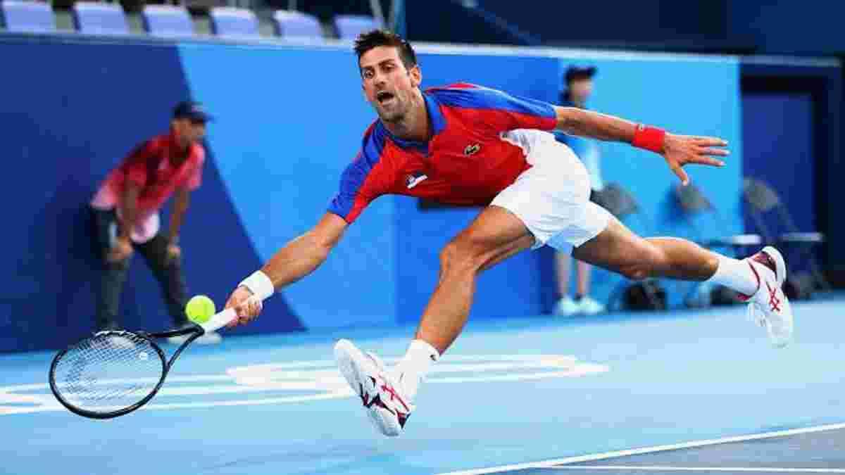 Перша ракетка світу Новак Джоковіч ганебно завершив свої виступи на Олімпіаді