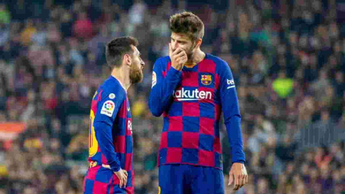 """""""Я не думаю, що треба переконувати Мессі"""": Піке – про невизначеність щодо контракту аргентинця"""