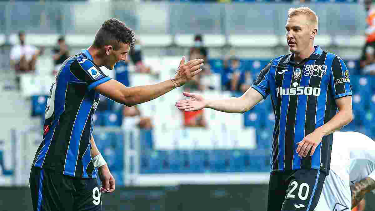 Первый гол Коваленко в Италии в видеообзоре матча Аталанта – Порденоне – 2:1