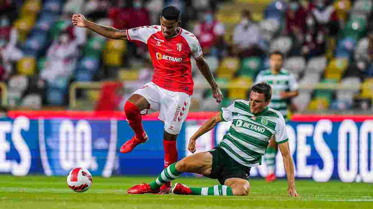 Спортінг оформив камбек проти Браги і здобув Суперкубок Португалії