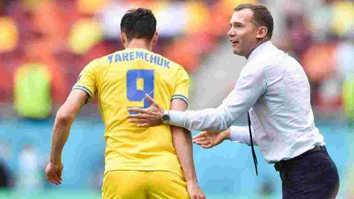 Шевченко повлиял на трансфер Яремчука в Бенфику, – источник