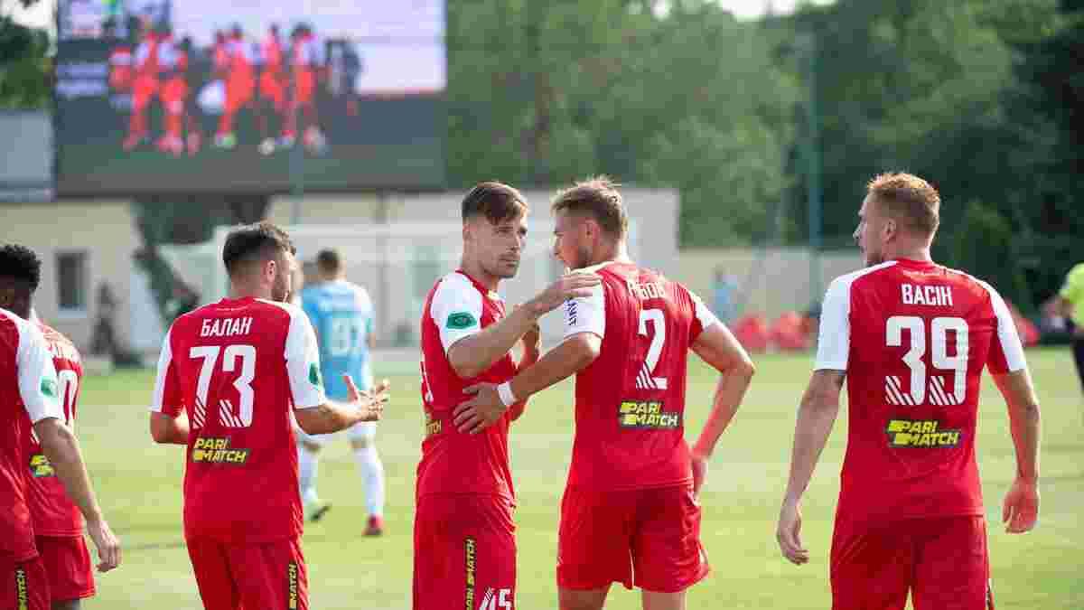 Первая лига: Кривбасс обыграл Ниву Т благодаря голу экс-игрока Карпат, Металлист одолел Ужгород в битве новичков